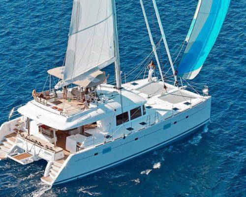 catamaran charter rental croatia skippered bareboat split trogir šibenik dubrovnik