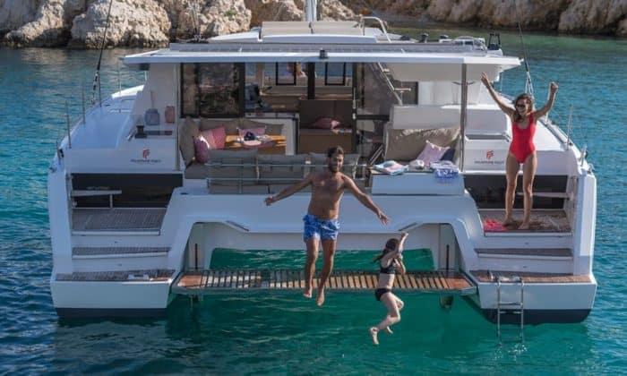 fountaine-pajot-42-charter-croatia-rental-catamaran-sailing 6